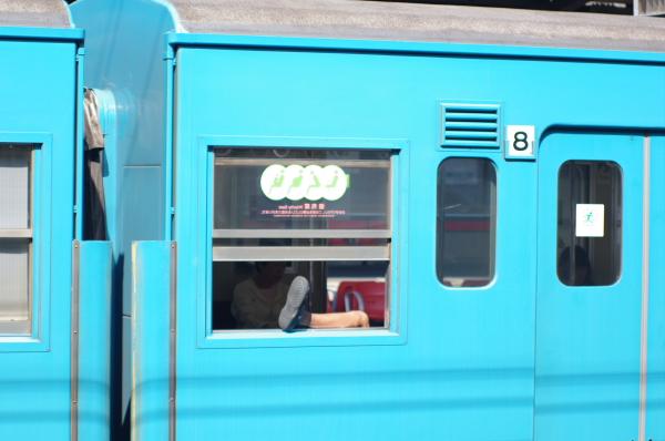 2010年8月17日 京葉線 ケヨ508配給 窓