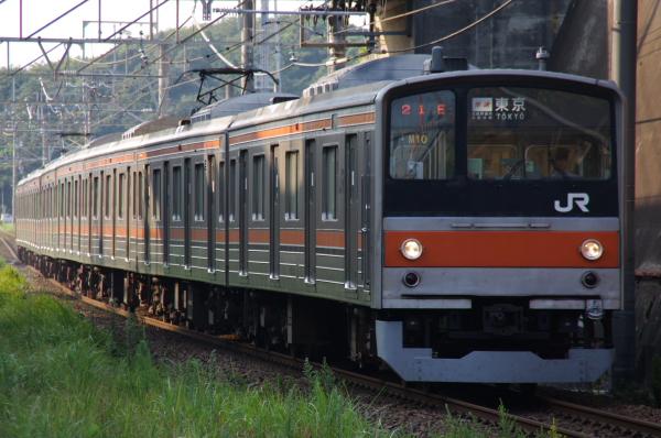 2010年8月17日 京葉線 ケヨ508配給 ケヨM10