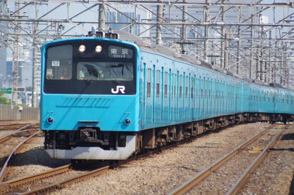 2010年8月17日 京葉線 ケヨ508配給 ケヨ53+K3