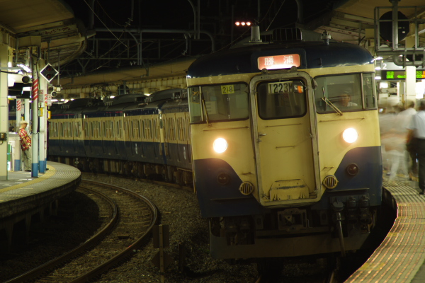 2010年8月18日 外房線 マリ218 大網