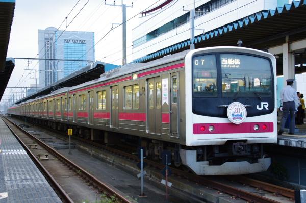 2010年8月18日 京葉線 西船行き ケヨ6