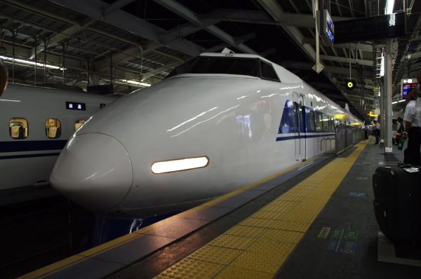 2010年8月19日 18きっぷ 京都旅行 100系 20番線