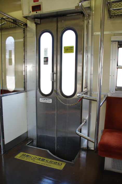 2010年8月19日 18きっぷ 京都旅行419系車内10