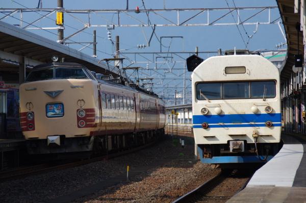 2010年8月19日 18きっぷ 京都旅行 419系 485系