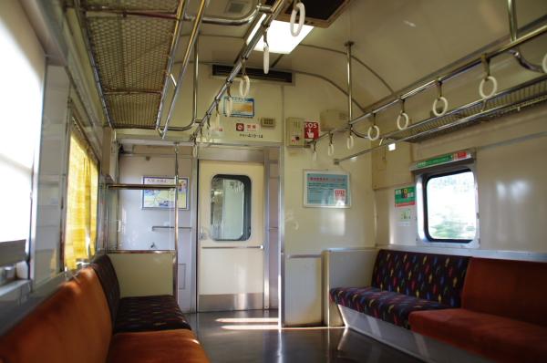 2010年8月19日 18きっぷ 京都旅行 419系車内2