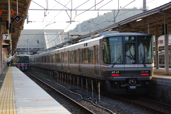 2010年8月19日 18きっぷ 京都旅行 223系 米原