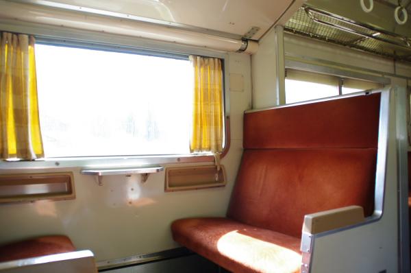 2010年8月19日 18きっぷ 京都旅行 419系車内5