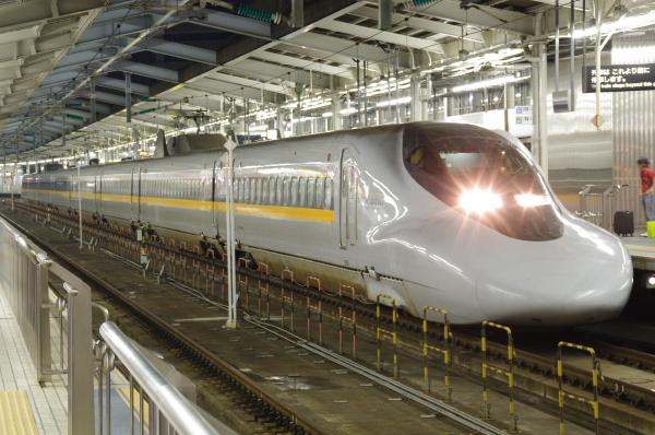 2010年8月19日 18きっぷ 京都旅行 700系 ひかりレールスター