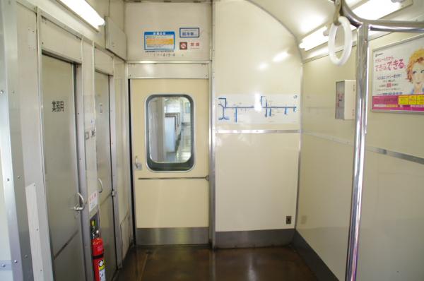 2010年8月19日 18きっぷ 京都旅行 419系車内9