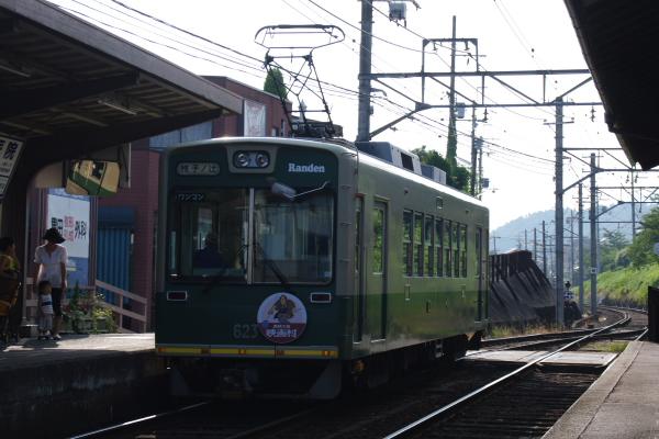 2010年8月19日 18きっぷ 京都旅行 ラン電