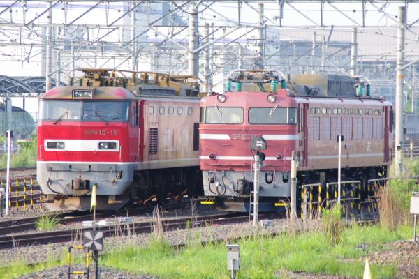 2010年8月19日 18きっぷ 京都旅行 EH510 米原