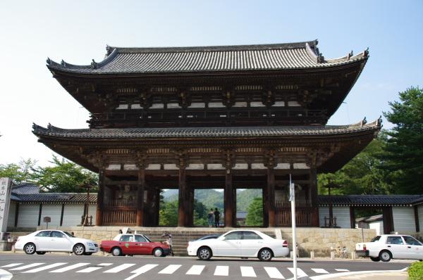 2010年8月19日 京葉線 18きっぷ 京都旅行 仁和寺