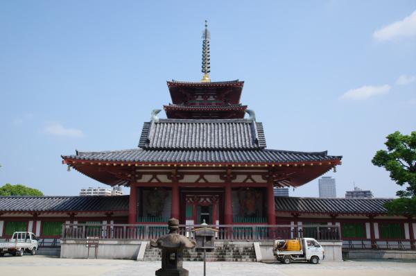 2010年8月20日 18きっぷ 大阪旅行 四天王寺