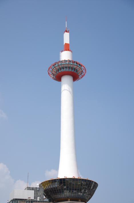 2010年8月20日 18きっぷ 大阪旅行 京都タワー