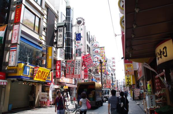 2010年8月20日 18きっぷ 大阪旅行 道頓堀