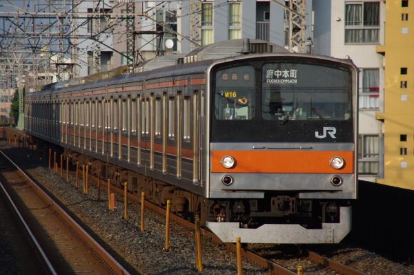 2010年9月1日 ケヨ81試運転 武蔵野線 中央線  M16 南浦和