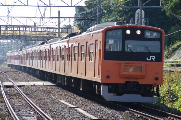 2010年9月1日 ケヨ81試運転 武蔵野線 中央線  H7 西国分寺