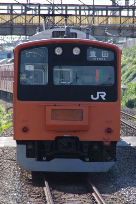 2010年9月1日 ケヨ81試運転 武蔵野線 中央線  H7 後打ち