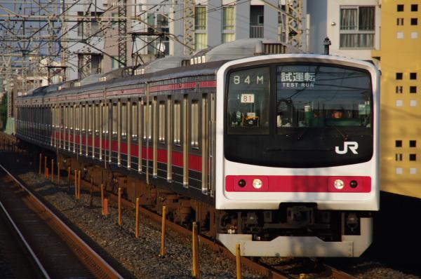 2010年9月1日 ケヨ81試運転 武蔵野線 中央線  9684M ケヨ81 南浦和