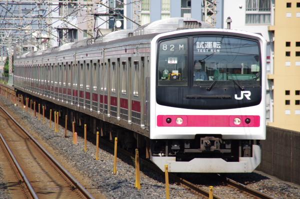 2010年9月1日 ケヨ81試運転 武蔵野線 中央線  9682M ケヨ81 南浦和