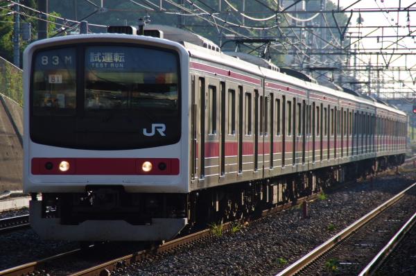 2010年9月1日 ケヨ81試運転 武蔵野線 中央線  ケヨ81 東浦和