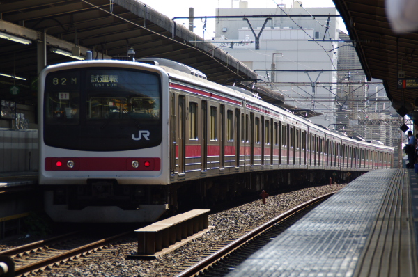 2010年9月1日 ケヨ81試運転 武蔵野線 中央線  ケヨ81 後打ち