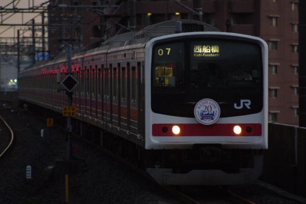 2010年9月1日 ケヨ81試運転 武蔵野線 中央線  ケヨ6 西船橋