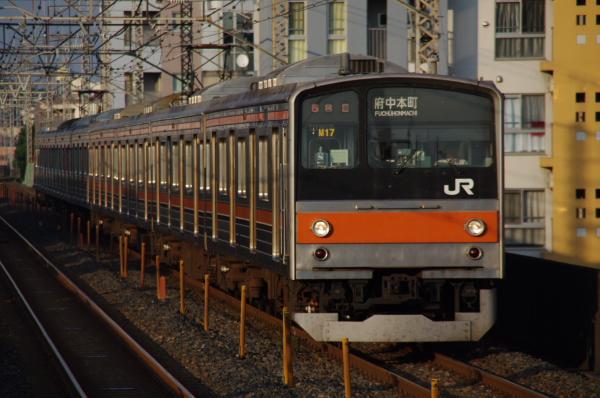 2010年9月1日 ケヨ81試運転 武蔵野線 中央線  M17 南浦和