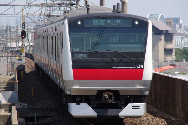 2010年9月5日 京葉線 ケヨ505 新木場