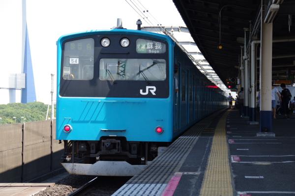2010年9月5日 京葉線 ケヨ54+K4 後内