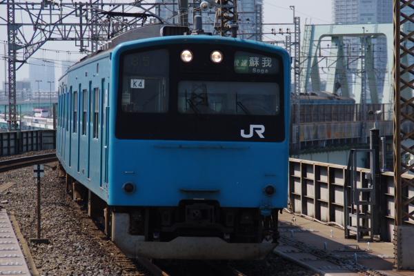 2010年9月5日 京葉線 ケヨ54+K4