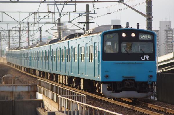2010年9月18日 京葉線 ケヨ53+K3