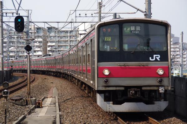 2010年9月19日 京葉線 ケヨ24 潮見