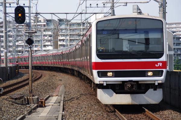 2010年9月19日 京葉線 ケヨ32 塩見