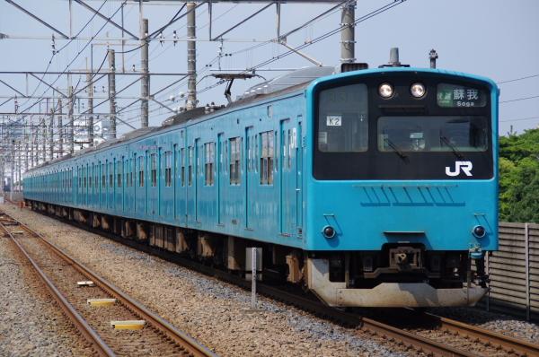 2010年9月19日 京葉線 ケヨ52+K2 新習志野