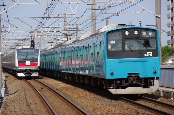 2010年9月19日 京葉線 ケヨ52+K2 新浦安