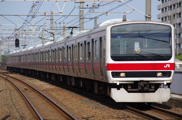 2010年9月19日 京葉線 ケヨ32 新浦安