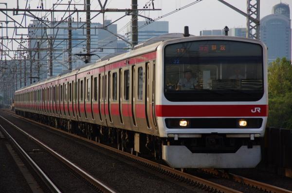 2010年9月19日 京葉線 ケヨ32 検見川浜