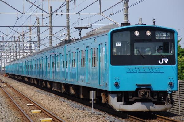 2010年9月19日 京葉線 ケヨ53+K3 新習志野