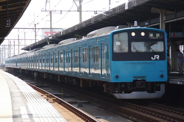 2010年9月19日 京葉線 ケヨ53+K3 新習