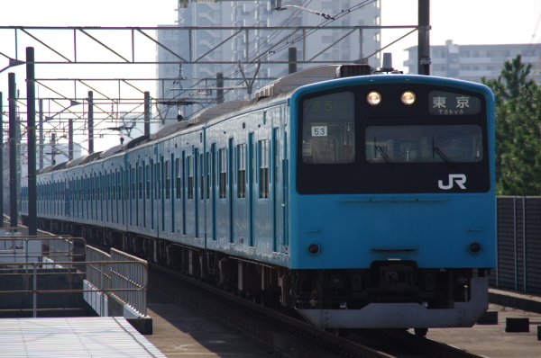 2010年9月19日 京葉線 ケヨ53+K3 海浜幕張