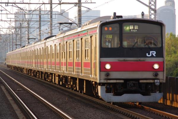 2010年9月19日 京葉線 ケヨ27 検見川浜