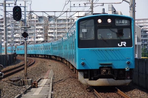 2010年9月19日 京葉線 ケヨ52+K2 潮見