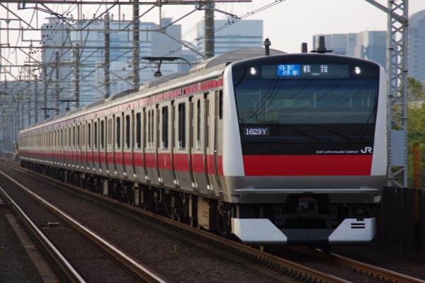 2010年9月19日 京葉線 ケヨ505 検見川浜