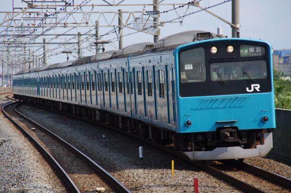 2010年9月19日 京葉線 ケヨ53+K3