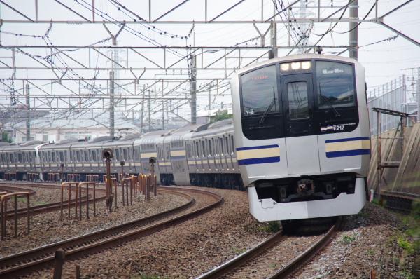 2010年9月20日 総武線 クラY4 稲毛カーブ