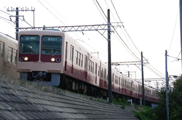 2010年9月20日 総武線 8000系 検見川