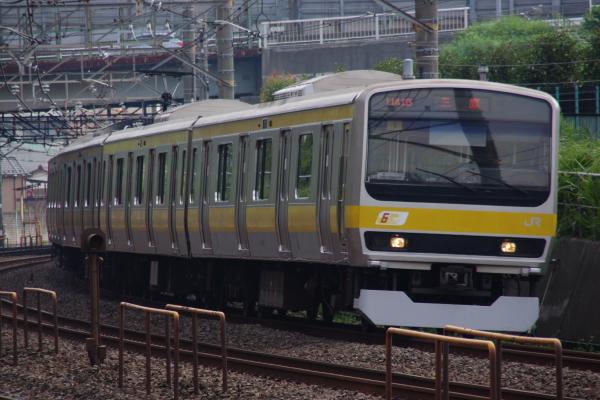 2010年9月20日 総武線 ミツ1 稲毛カーブ