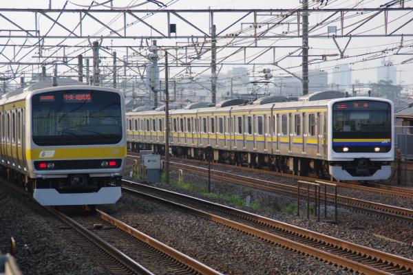 2010年9月20日 総武線 共演 幕張