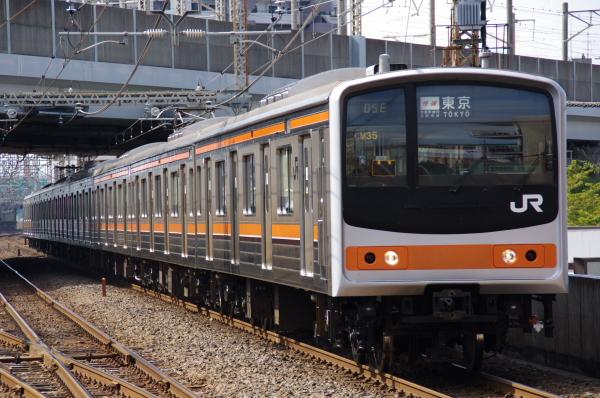 2010年10月1日 ケヨ31配給 武蔵野線 総武線  ケヨM35 武蔵浦和